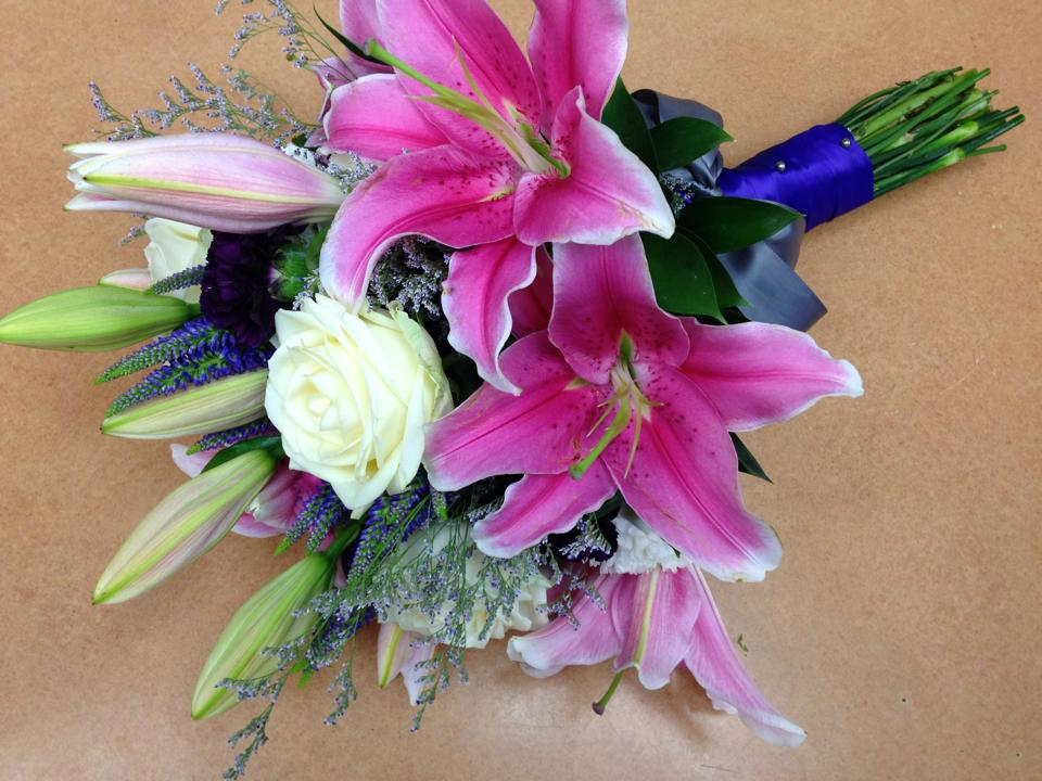 Exquisite bridal bouquet from Oak Bay Flower Shop Ltd. in Victoria, BC