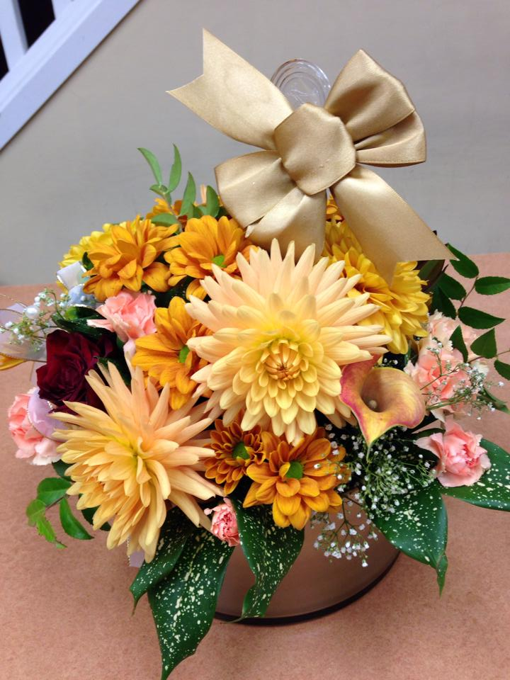 50th anniversary flowers from Oak Bay Flower Shop Ltd. in Victoria, BC