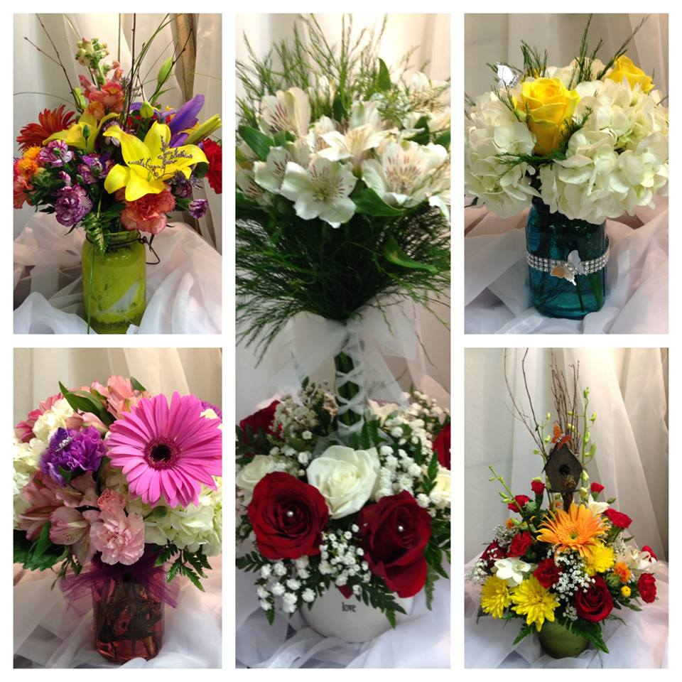 A collection of bright colors from Michele's Floral and Gifts in Copperas Cove, tX