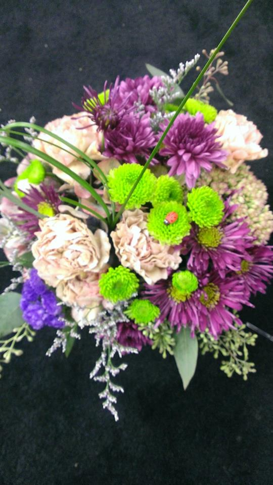 A fresh take on fall colors from Banda's Bouquets in Longview, WA