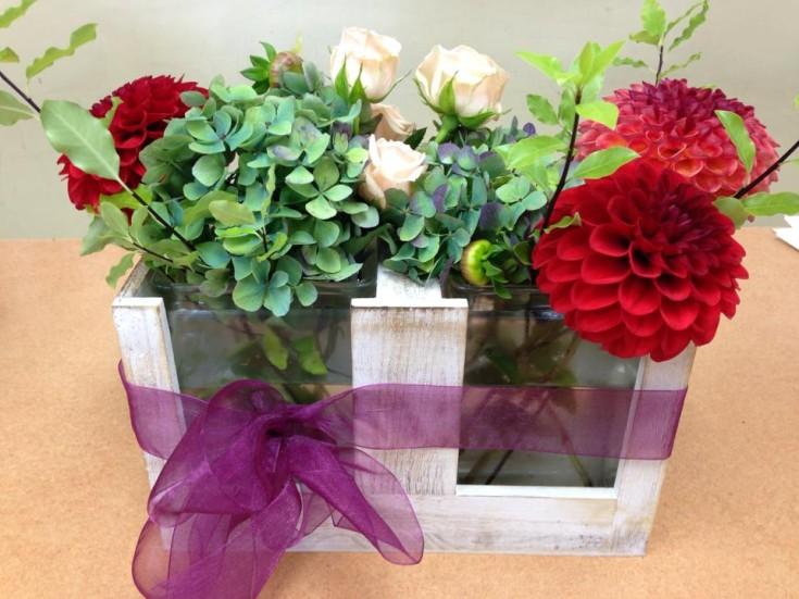 Adorable arrangement from Oak Bay Flower Shop Ltd. in Victoria, BC