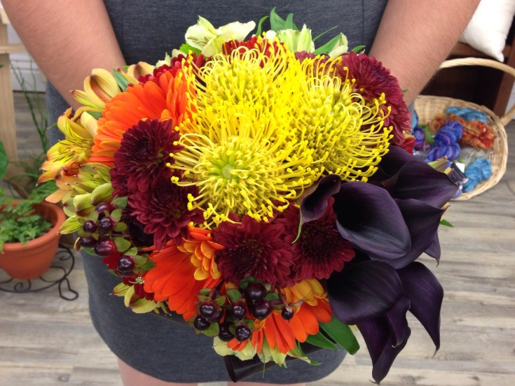 Celebrating color from Petals in Thyme of Wasaga Beach, ON