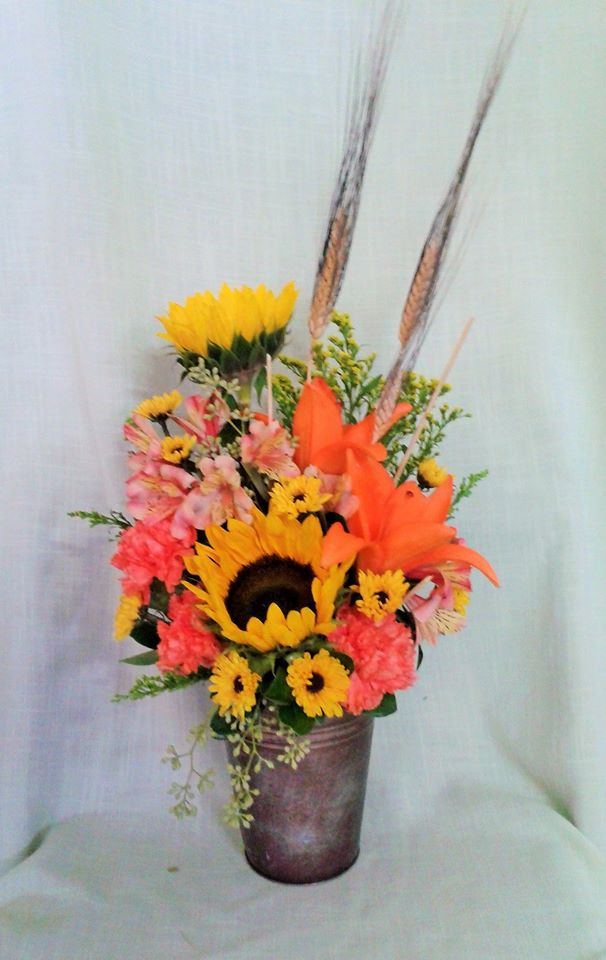 Celebrating the colors of fall from Marshfield Blooms in Marshfield, MO