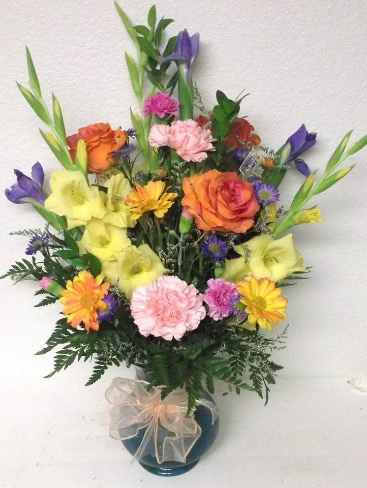 Fantastic arrangement from A-1 Flowers & More in Cottonwood, ID