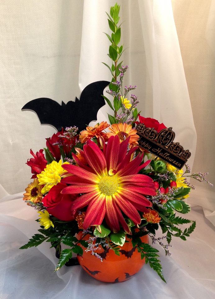 Getting a little 'batty' at Michele's Floral and Gifts in Copperas Cove, TX