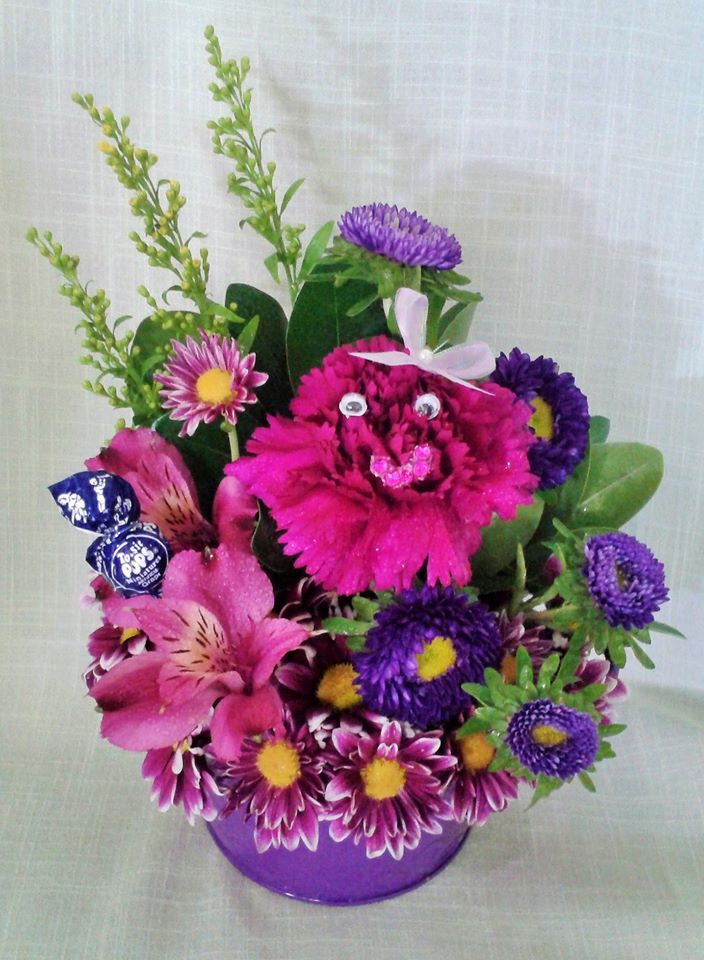 Gift for a birthday girl who loves purple from Marshfield Blooms in Marshfield, MO
