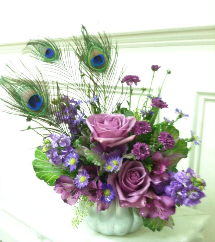 Gorgeous design from Works of Heart Flowers in Wilton, NH