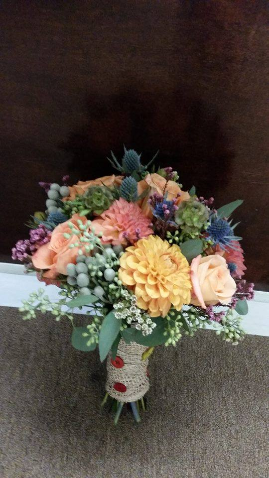 Gorgeous fall wedding bouquet from Flower Boutique in Cherry Hill, NJ