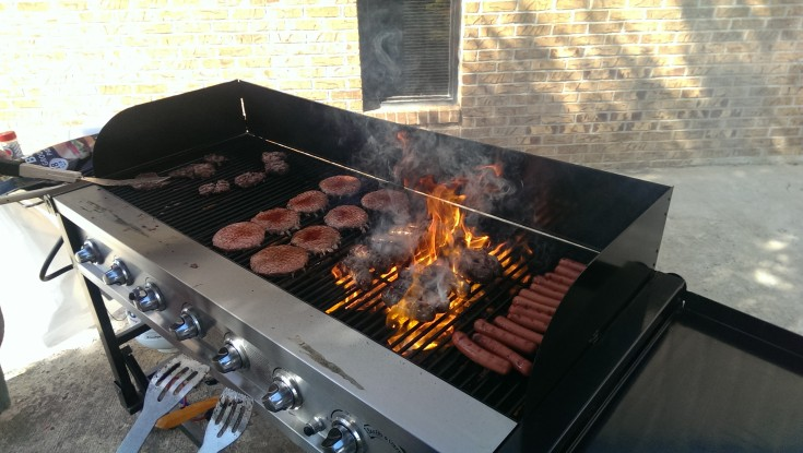Grillin' It Up!