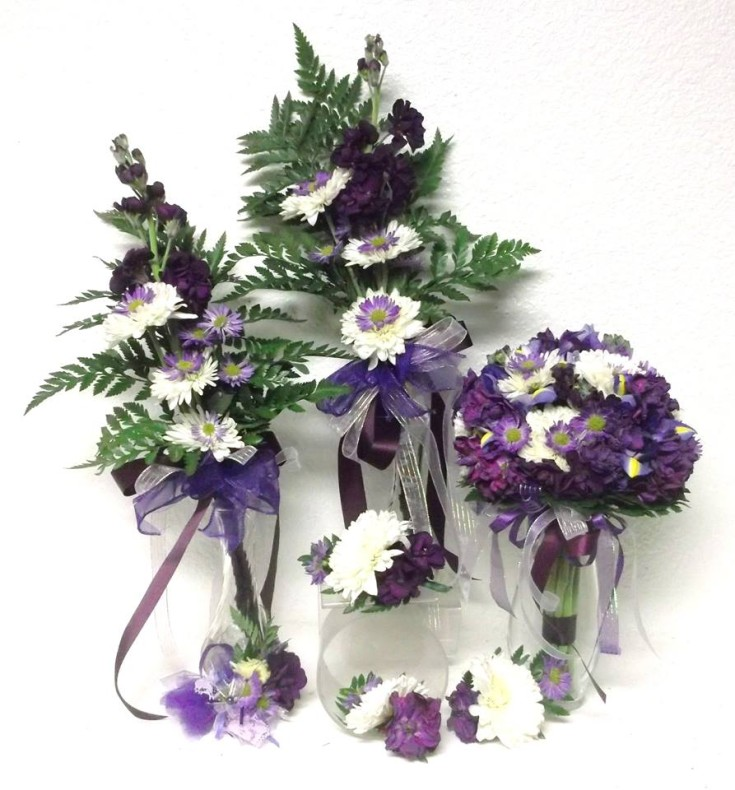 Lovely wedding flowers from A-1 Flowers & More in Cottonwood, ID