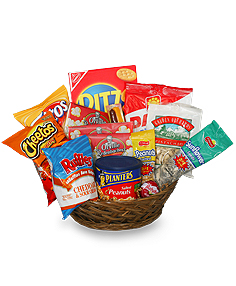 Salty Snacks Basket