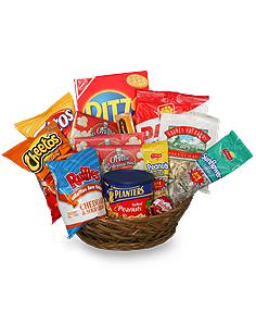 Salty Snacks Basket