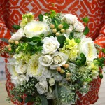 Stunning bridal bouquet from Monday Morning Flower and Balloon Co. in Princeton, NJ