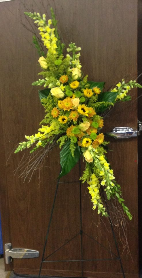 Sympathy tribute from Michele's Floral and Gifts in Copperas Cove, TX
