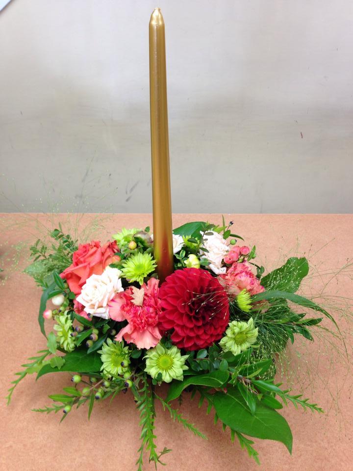 Wonderful fall centerpiece from Oak Bay Flower Shop Ltd. in Victoria, BC