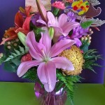 Amazing arrangement from Wilma's Flowers in Jasper, AL