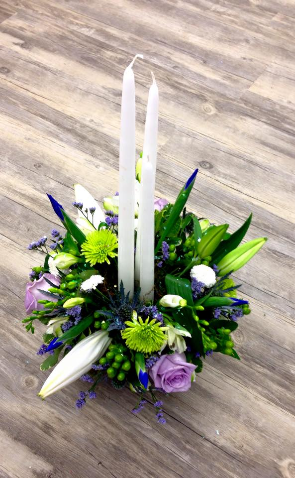 Adorable birthday flowers from Petals in Thyme of Wasaga Beach, ON