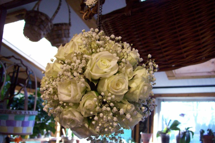 Beautiful bouquet from Sweet Briar Flower Shop in Galway, NY