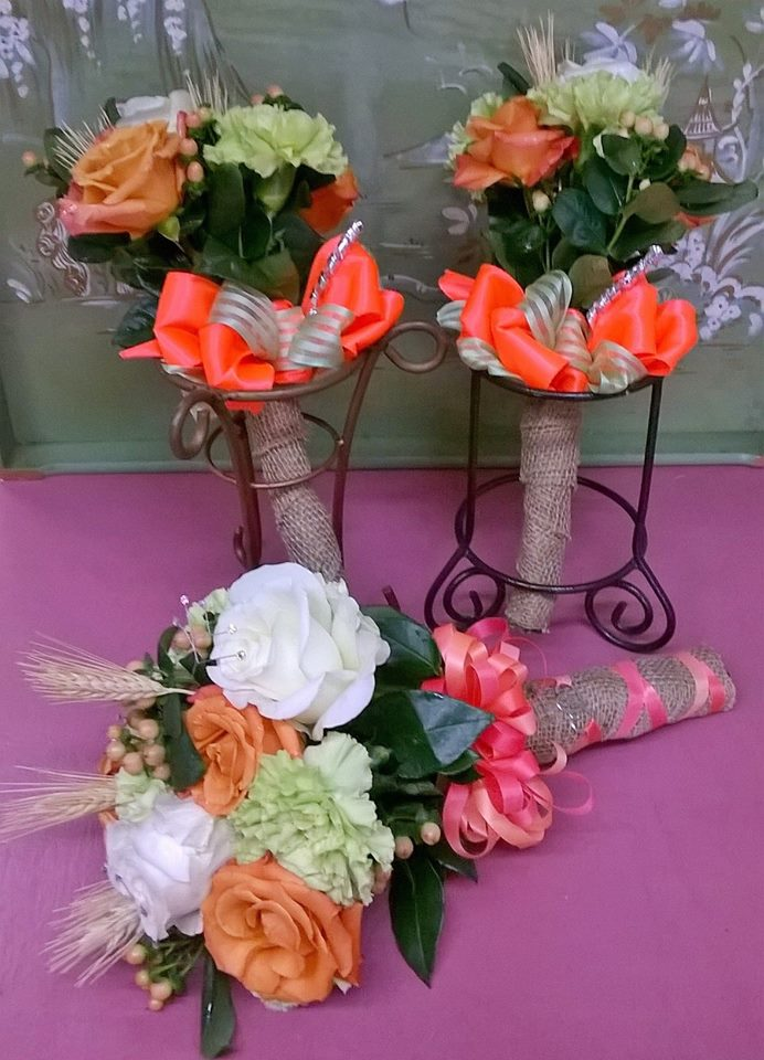 Beautiful bouquets from Wilma's Flowers in Jasper, AL