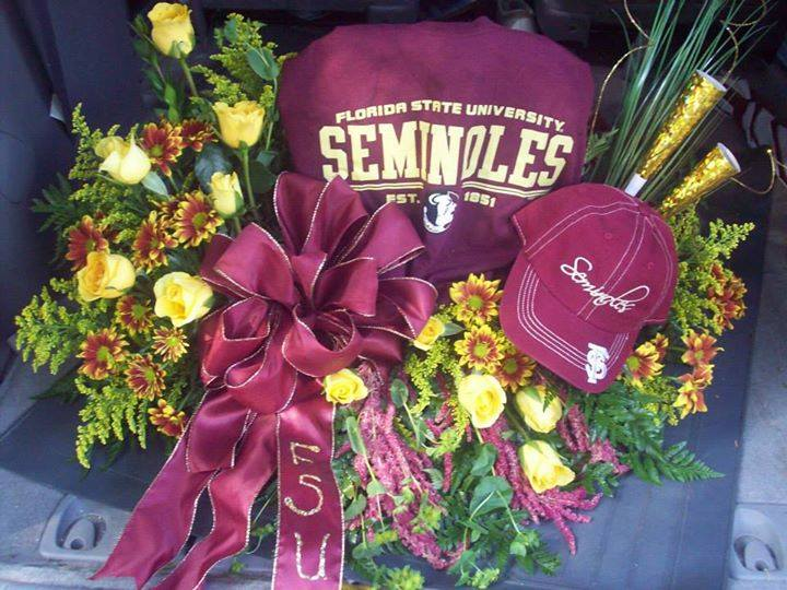 Championship bound with Front Porch Creations Florist in Crawfordville, FL