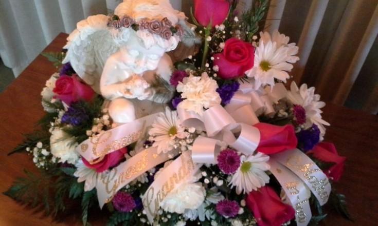 Excellent arrangement from Garden Gate Gift and Flower Shop in North Salem, IN
