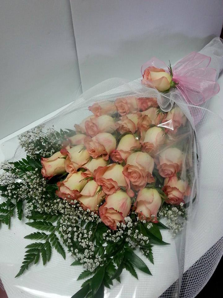 Fantastic pink roses from Blossoms Florist & Boutique in Kingston, ON