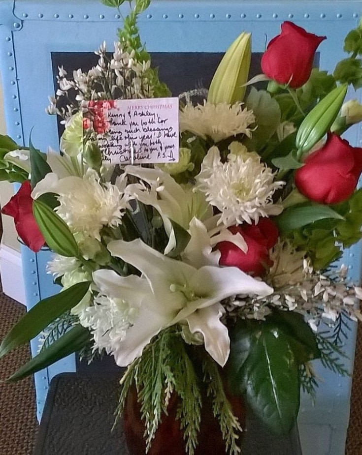 Floral appreciation from Wilma's Flowers in Jasper, AL