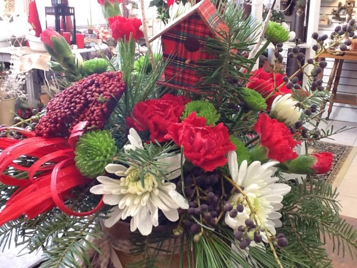 Gorgeous arrangement from Tattered Leaf Designs Flowers & Gift in Lyons, WI