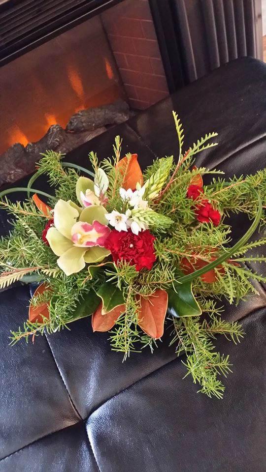 Gorgeous sympathy arrangement from BlueShores Flowers and Gifts in Wasaga Beach, ON