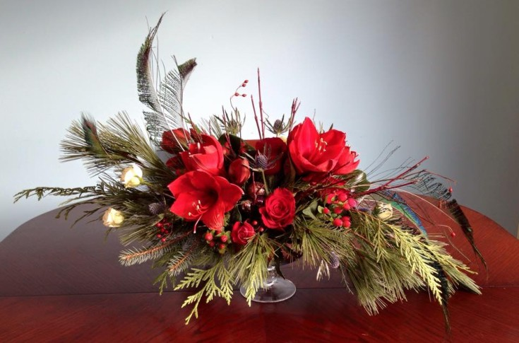 Holiday beauty from Petals in Thyme of Wasaga Beach, ON