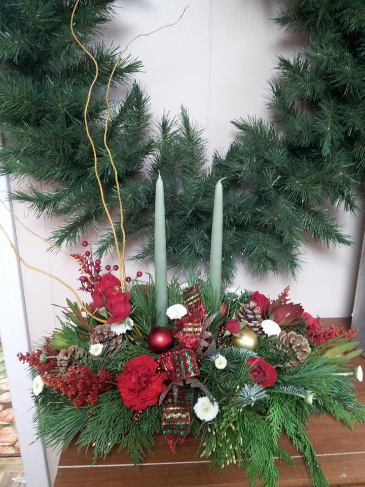Season's greetings from Clarabella Flowers of Clare, MI