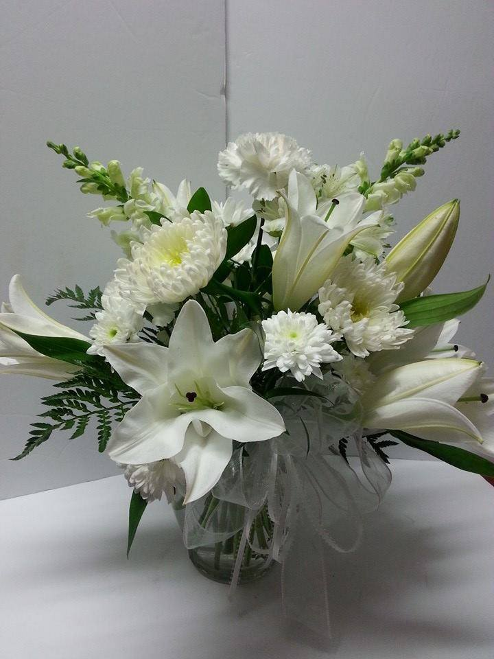 Sympathy flowers from Blossoms Florist & Boutique in Kingston, ON