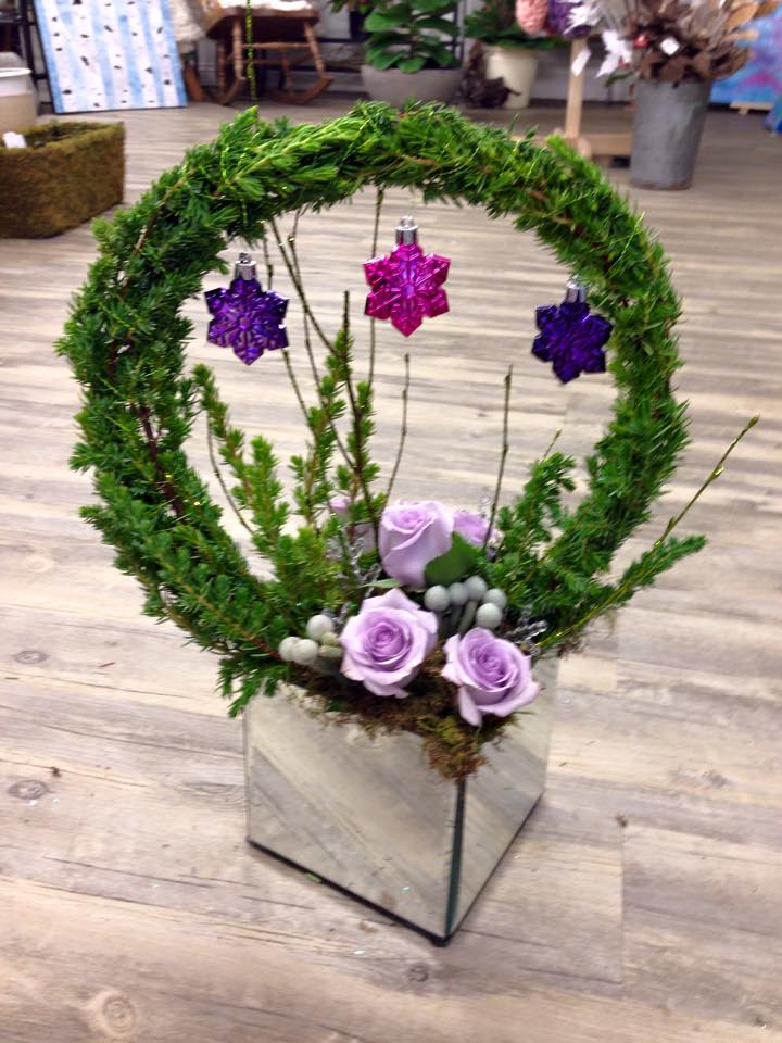 Youthful arrangement from Petals in Thyme of Wasaga Beach, ON
