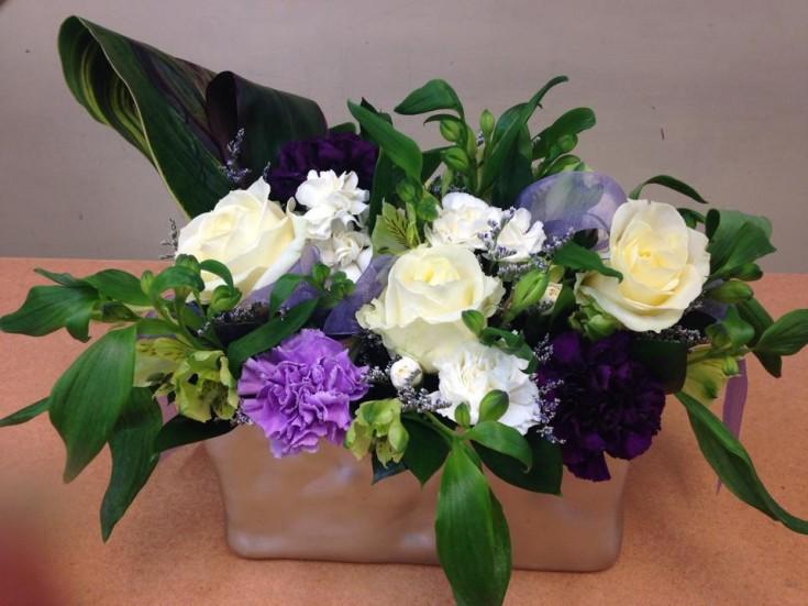A lovely flower basket from Oak Bay Flower Shop Ltd. in Victoria, BC