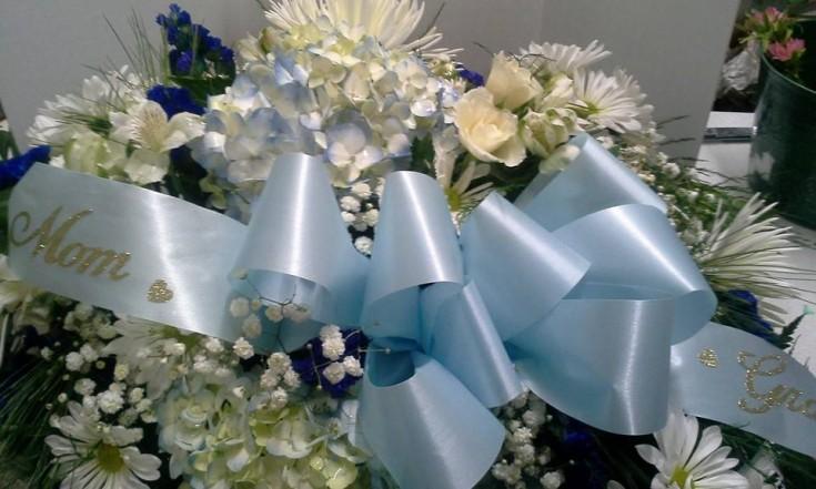 Amazing arrangement from Garden Gate Gift and Flower Shop in North Salem, IN