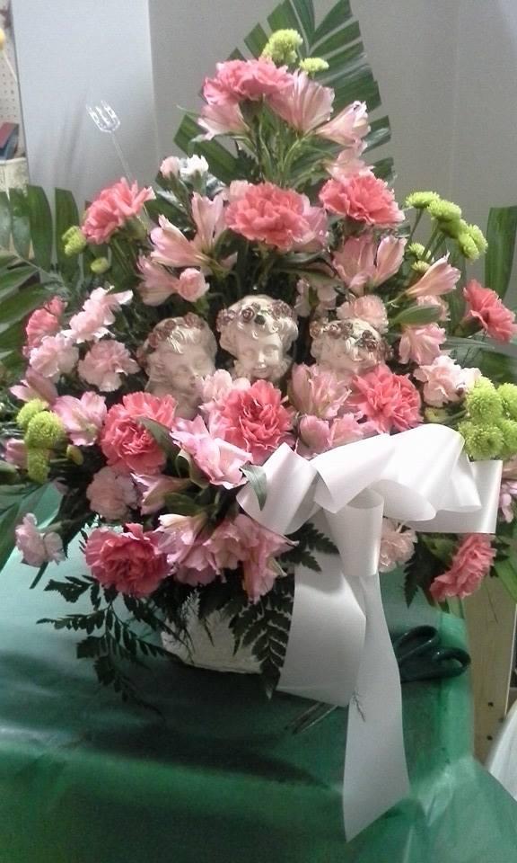 Beautiful arrangement from Garden Gate Flowers & Gifts in North Salem, IN