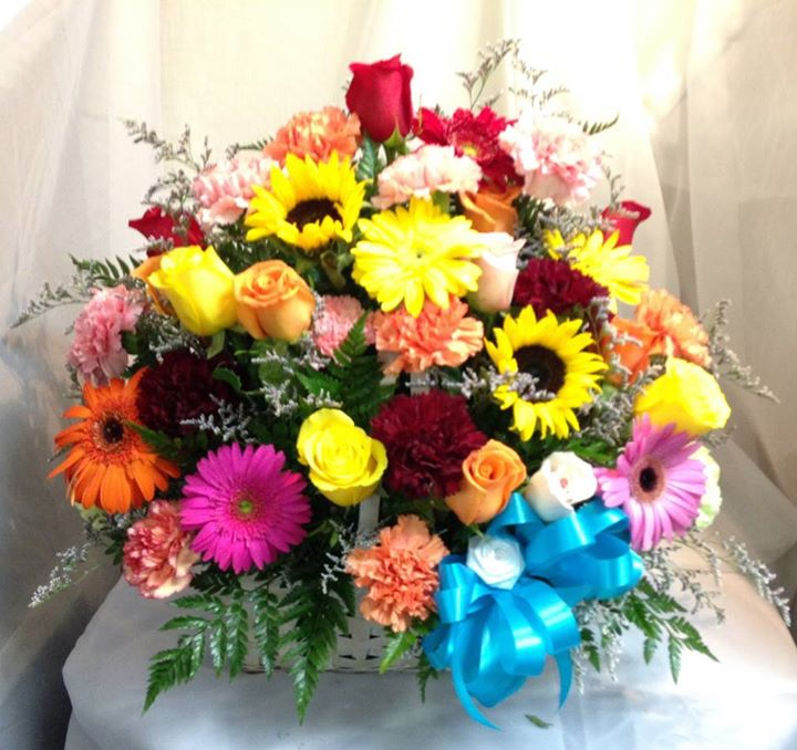 Bright and colorful arrangement by Michele's Floral and Gifts in Copperas Cove, TX