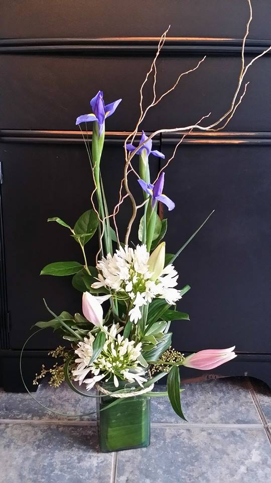 Elegant sympathy arrangement from BlueShores Flowers & Gifts in Wasaga Beach, ON