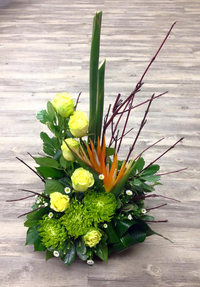 Fantastic tribute from Petals in Thyme of Wasaga Beach, ON