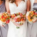 Gorgeous wedding bouquets by Oran's Flower Shop in Kingston, TN