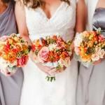 Gorgeous wedding bouquets by Oran's Flower Shop in Kingston, TN