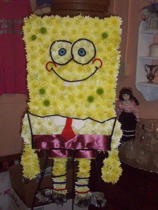 Spongebob spray by Front Porch Creations Florist in Crawfordville, FL