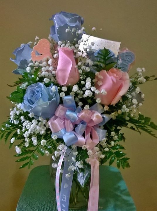 Sweet baby arrangement by Wilma's Flowers in Jasper, AL