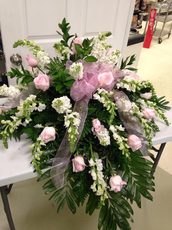 Timeless arrangement by Lexi Lu's Flower Shop in Lewistown, MO