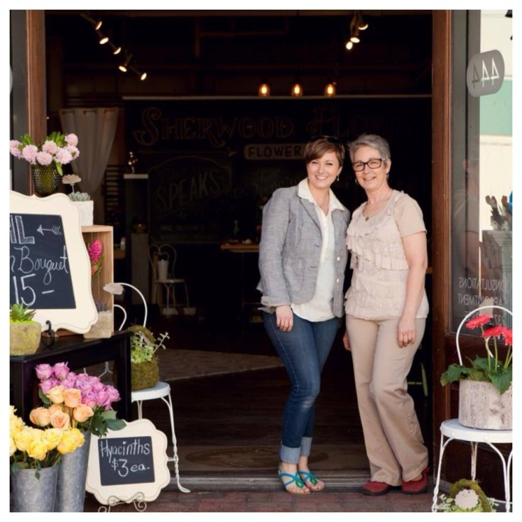 From Left: Jessie Wright, Co-owner and decorator, and Bev Guy, Co-owner.