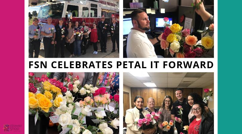 FSN Celebrates Petal It Forward