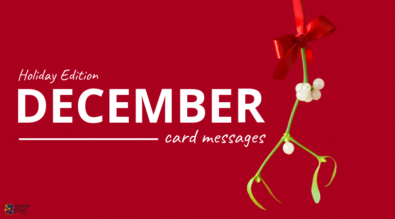 December Card Messages