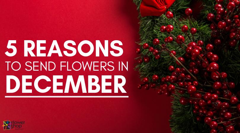 Reasons to Send Flowers in December