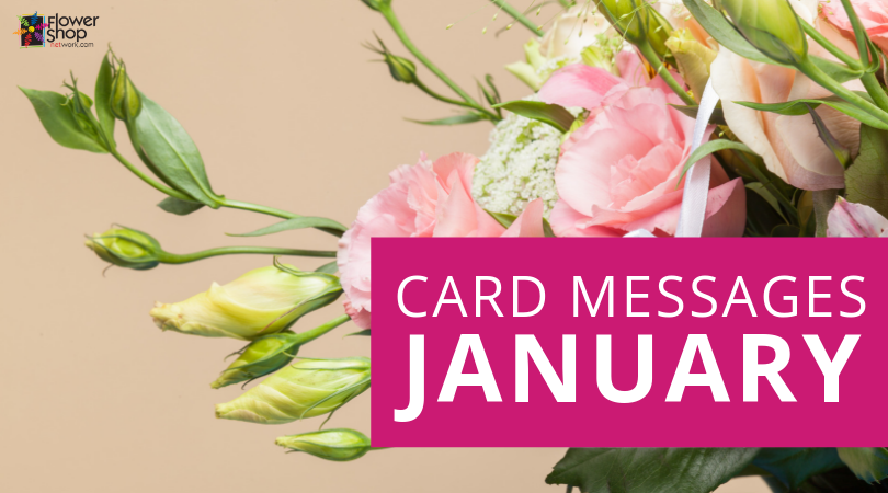January Card Messages