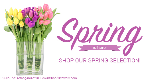Click Here for Spring Arrangements